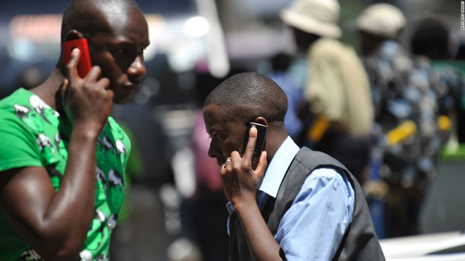Africa mobile users