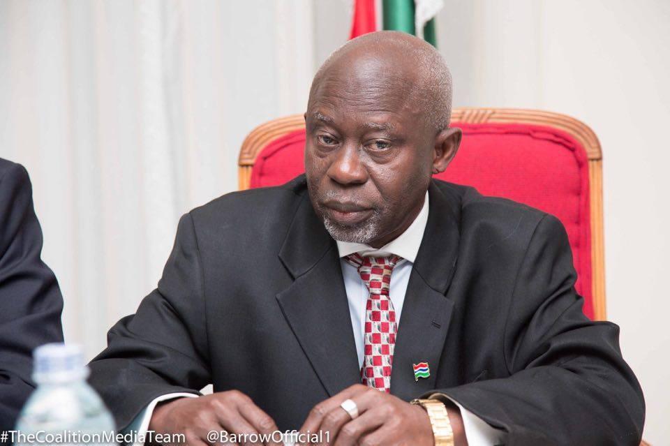 Foreign-Minister Ousainou Darboe