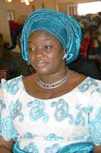 Former First Lady of Guinea Madam Mamadie Toure