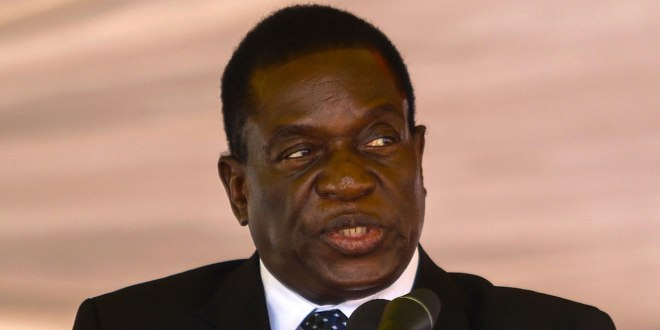 Former Zim Vice President Emmerson Mnangagwa