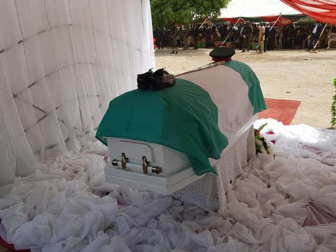 Funeral of-Late Gen Victor Malu