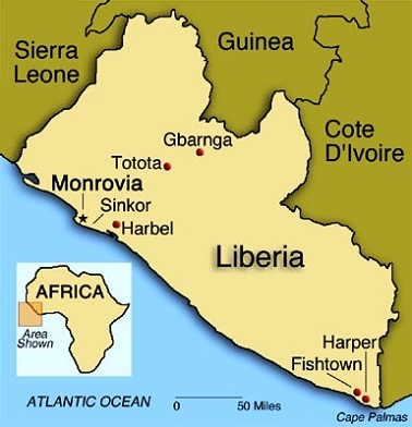 Liberia tourism destinations