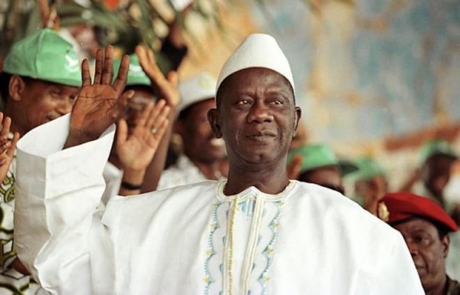 Late President Lansana Conte