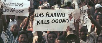 More Ogoni land Protestors in Nigeria