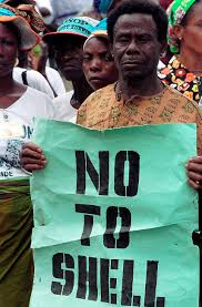 Ogoni land protest