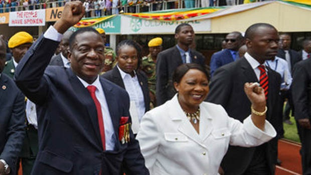President and Ms. Emmerson Mnangagwa