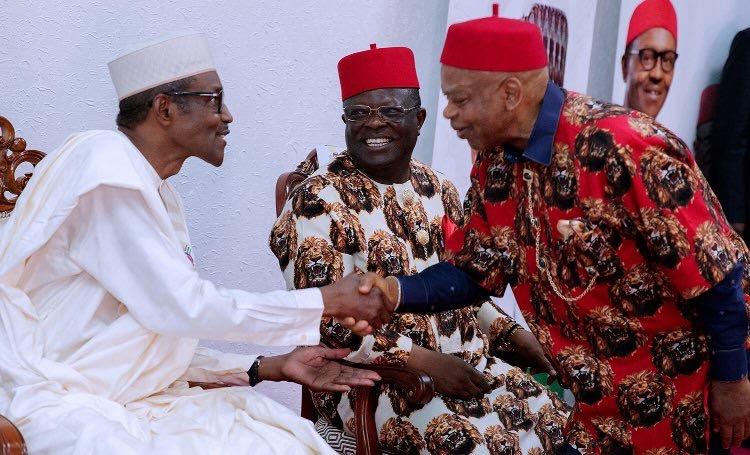 Nigerian President Buhari Visits BiafraRegion