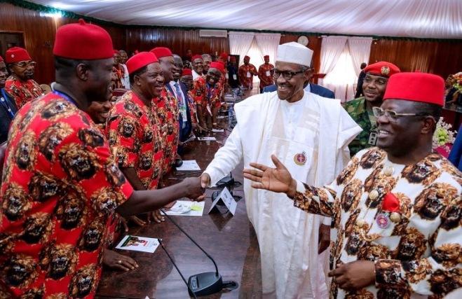 President Muhammadu Buhari Visting Southeast Nigeria