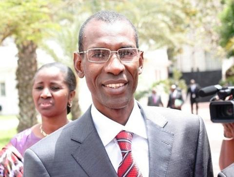 Senegal Transport Minister Abdoulaye Daouda Diallo