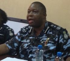 Sierra Leone Police Inspector General Richard Moigbe