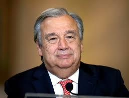 UN Sec Gen Antonio Guterres