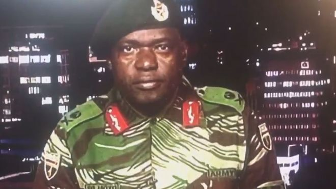 Zimbabwe Military Officer