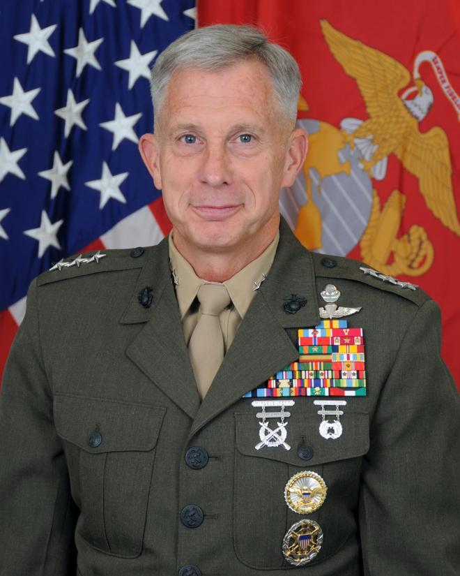 Lieutenant General Thomas D. Waldhauser