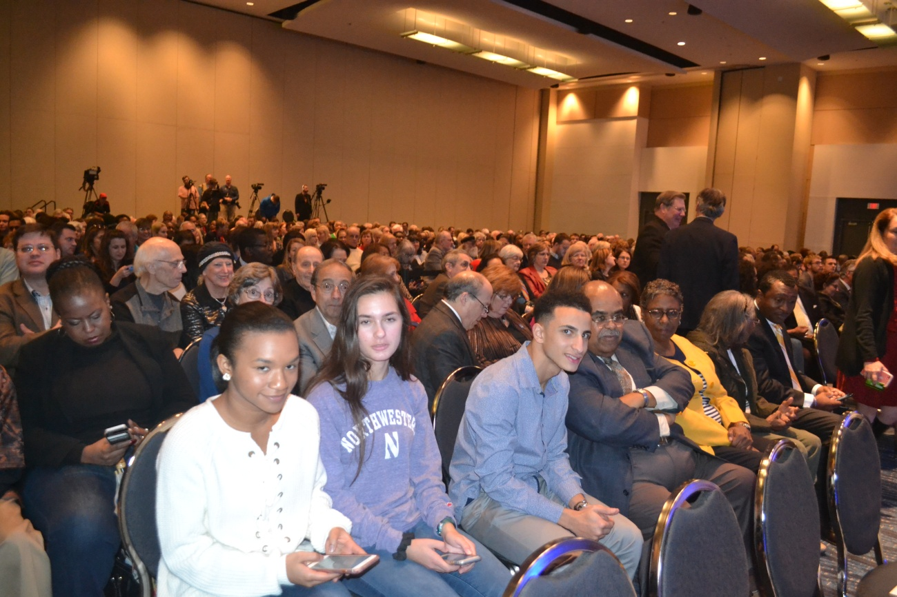 Audience Members at Clinton School of Public Service Lecture