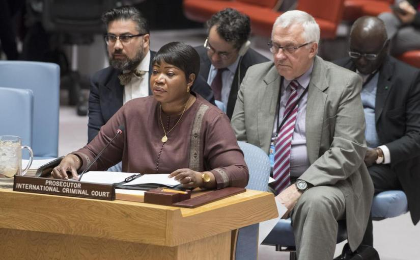 ICC Prosecutor Ask UN Security Council To Act On Outstanding ArrestWarrants