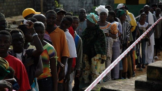Liberia Electorates