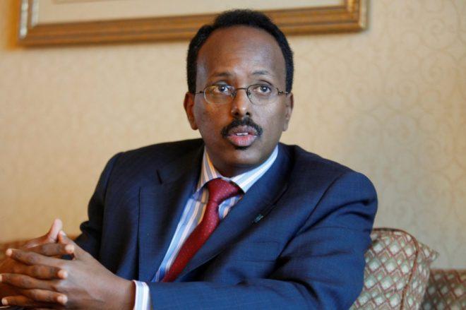 President Mohamed-Abdullahi-Mohamed of Somalia