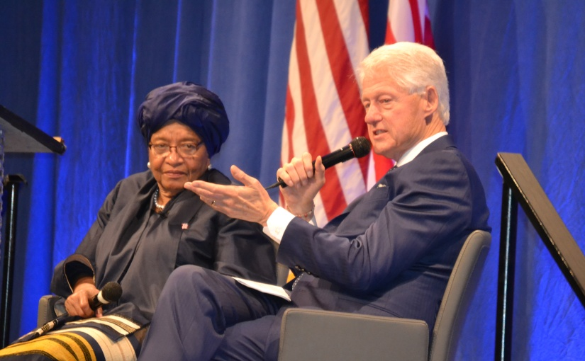 Liberia's President Visits US And Appeals For Support for Educational System
