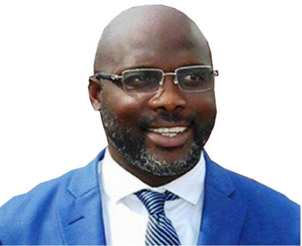 Senator George Weah of CDC