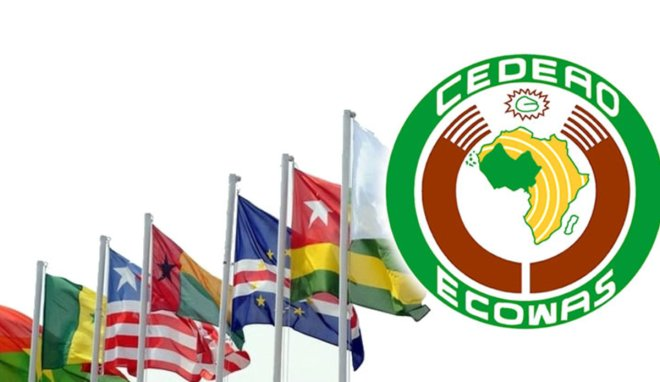 Ecowas Flags