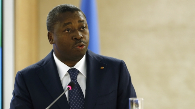 Togo President Faure-Gnassingbe