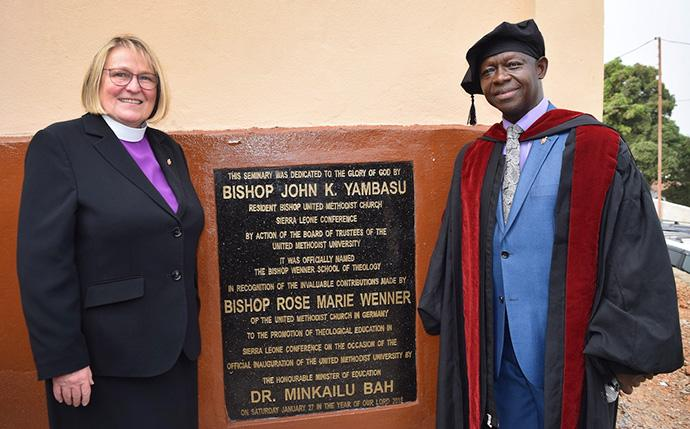 United Methodists in Sierra Leone Celebrate Launch Of University
