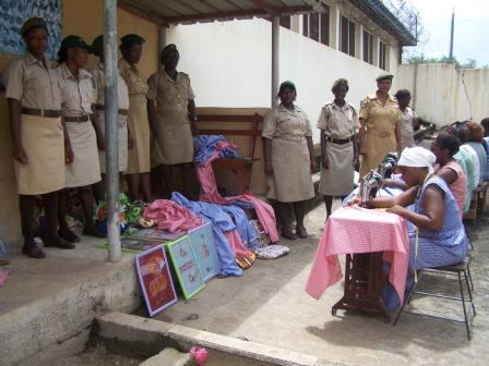 Female Inmates in Votech