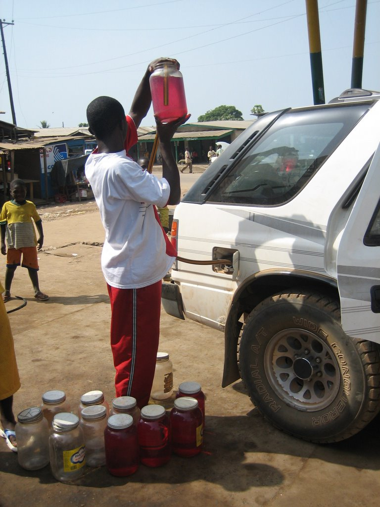 Gas Sold In Jars In Liberia