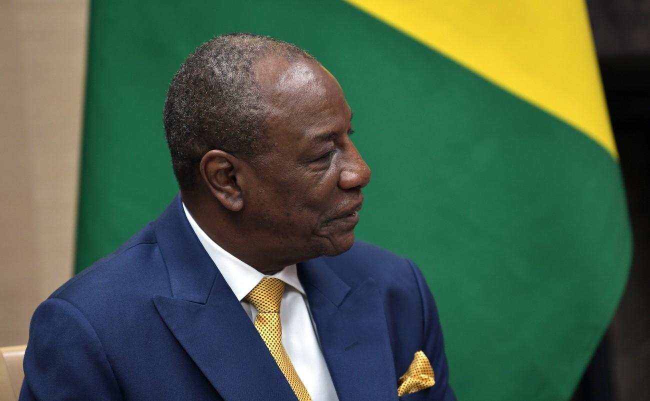 Guinean Pres Alpha Condé
