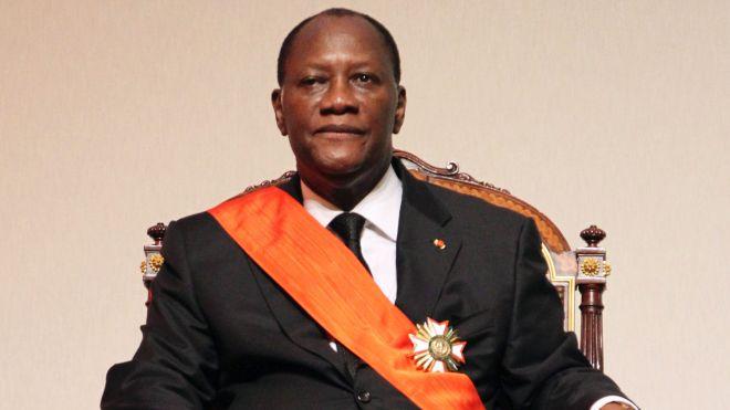 Ivorian President Alassane Ouattara