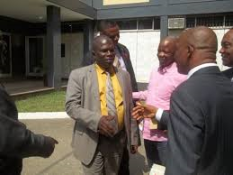 Liberia Justice Minister Nominee Counselor Charles Gibson