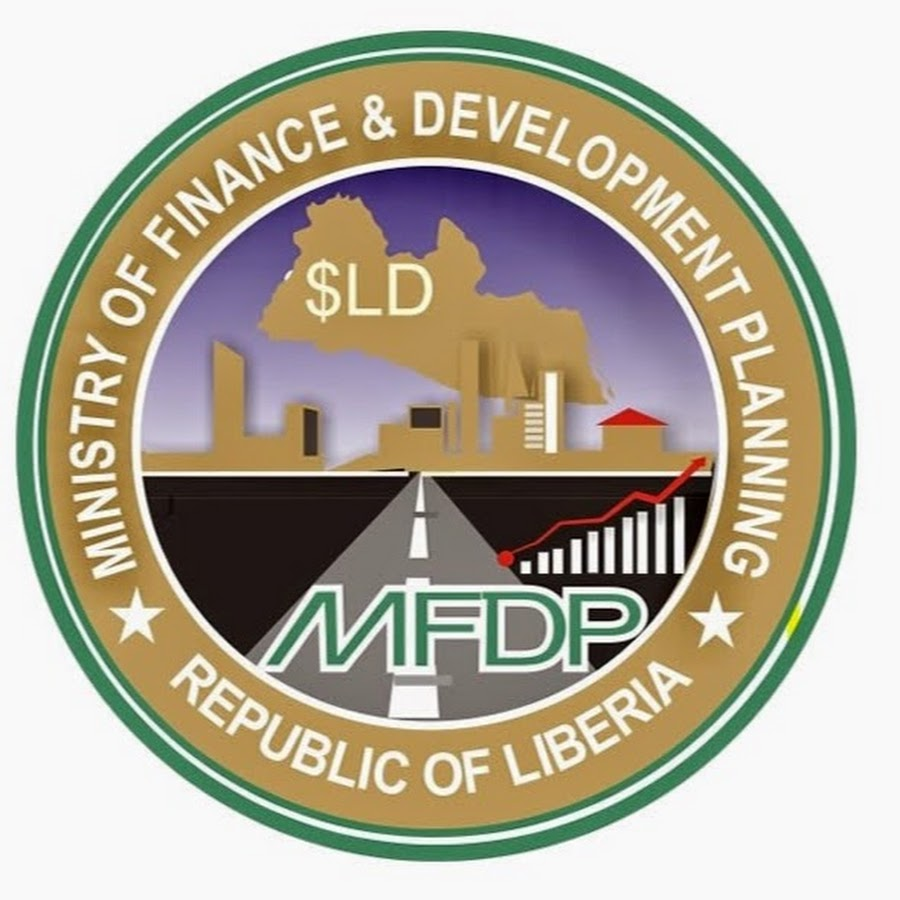 Ministry of Finance of Liberia logo