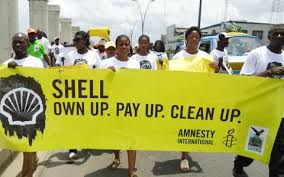 Shell Protests - Nigeria