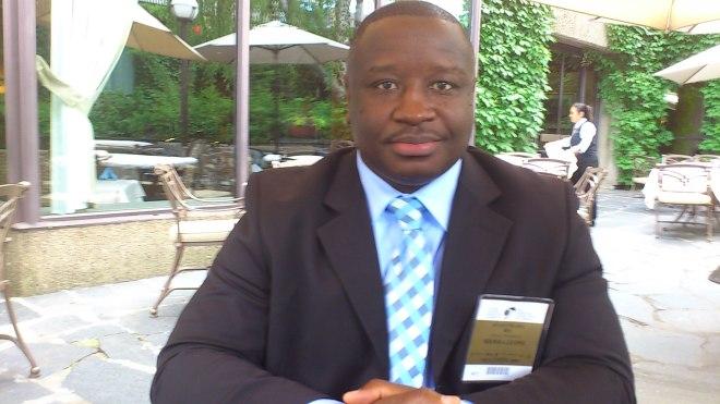 SLPP Candidate Julius Maada Bio