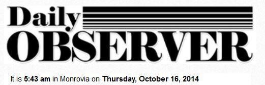 Daily Observer Monrovia