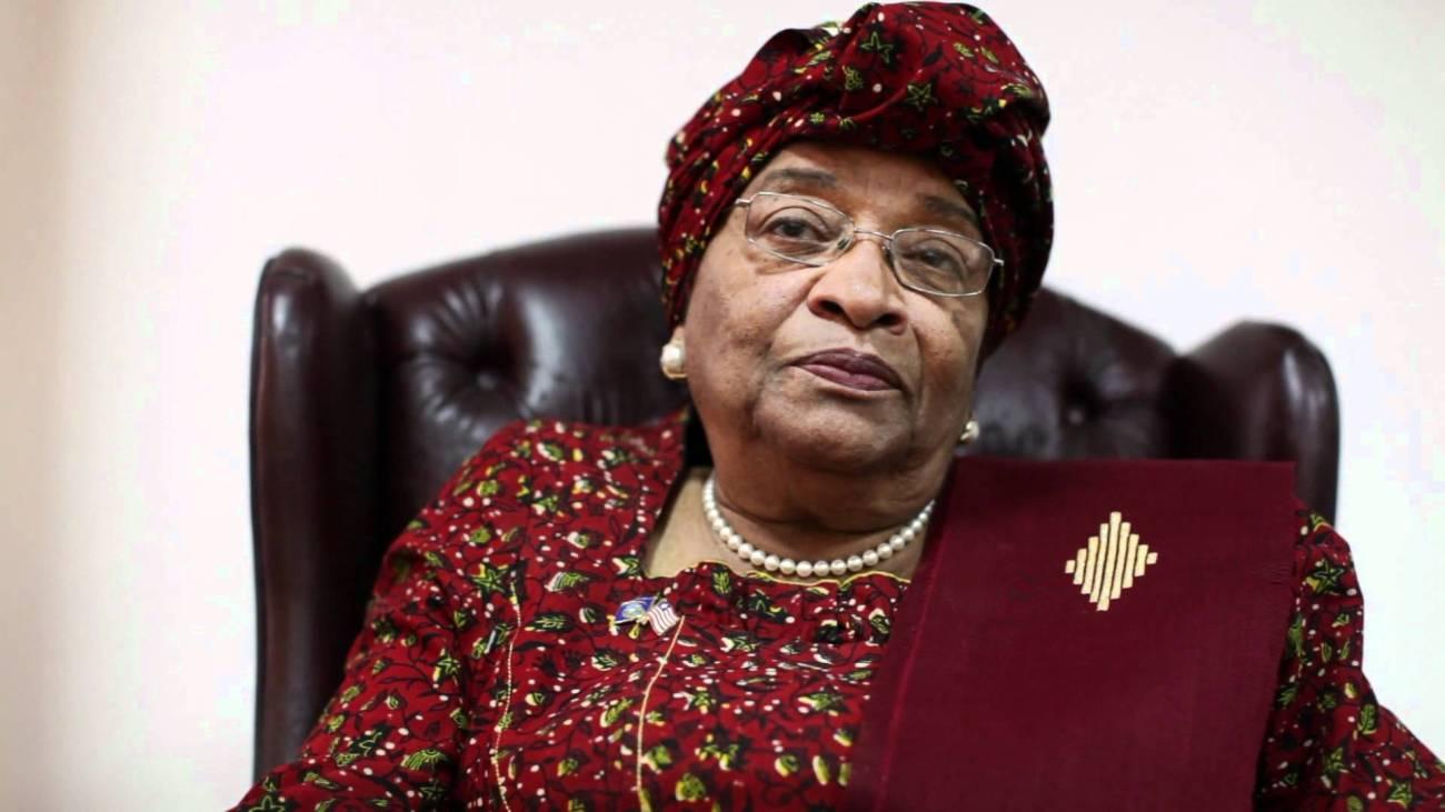 Former President Ellen Johnson Sirleaf of Liberia