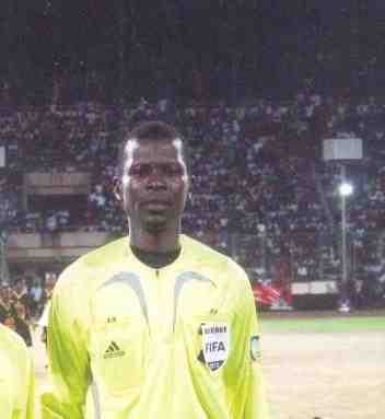 Liberian Referee Jerry Yekeh