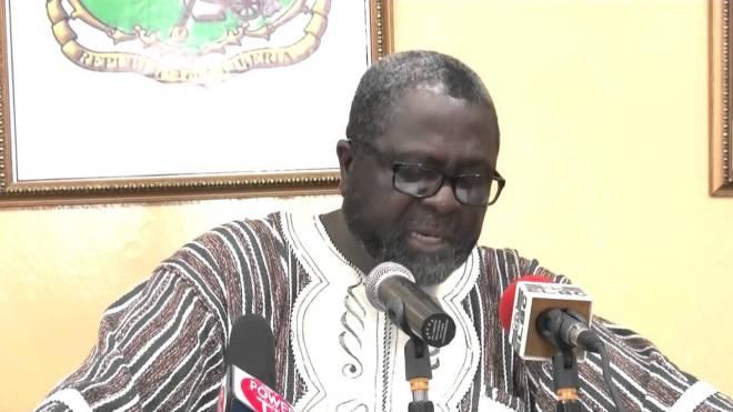 Outgoing Liberian UN Ambassador Lewis G. Brown