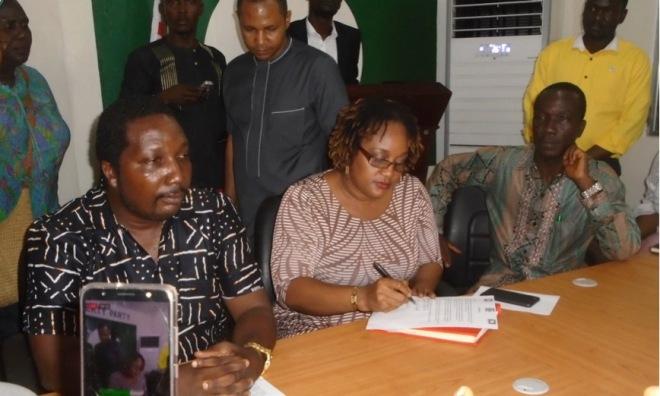 Liberian Opposition Bloc - ANC-LP-UP
