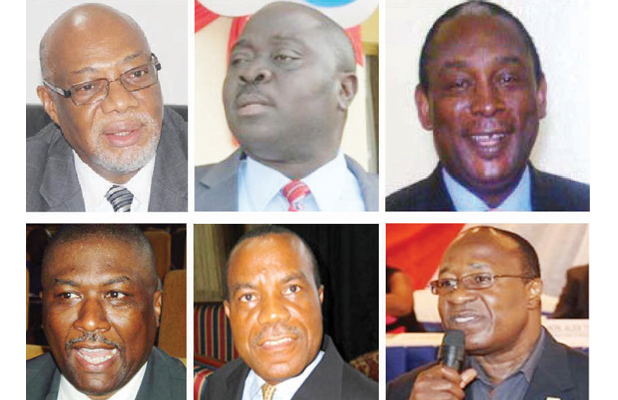 Sable Mining Case Indictees - Courtesy of Daily Observer Newspaper
