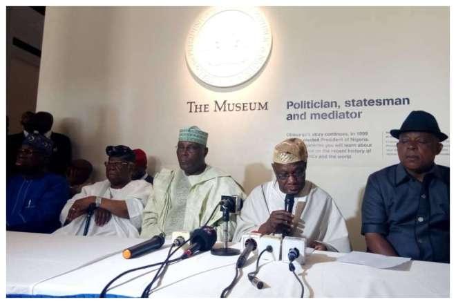 Former President Obasanjo Confirms He Has Forgiven Former VP Atiku-Abubakar