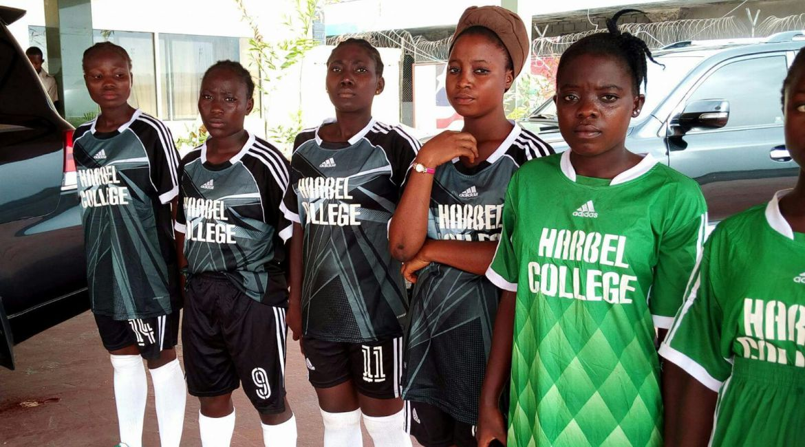 Students of Harbel Community College Liberia
