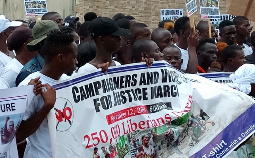 US Lawmakers Signal Major Support For War Crimes Court InLiberia