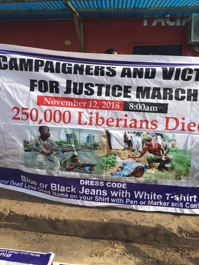 Liberia Campaigners for War Crimes