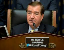 US Representative Ed Royce