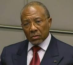 Former Liberian President Charles Taylor