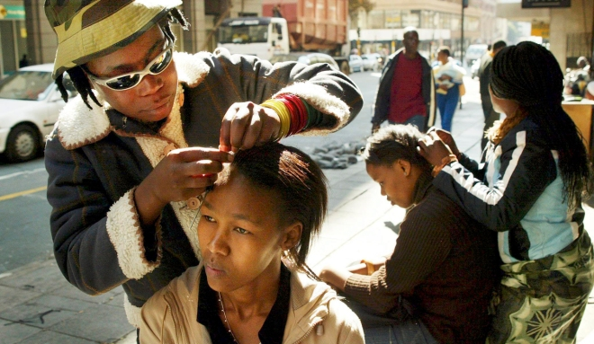 SOUTH AFRICA INFORMAL HAIR TRADE
