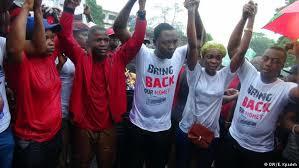 liberian protesters - file photo