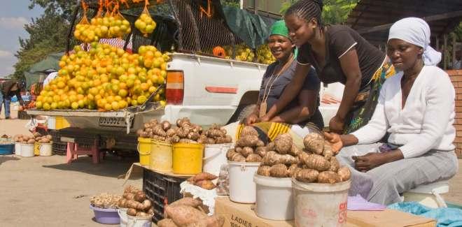 market women in africa