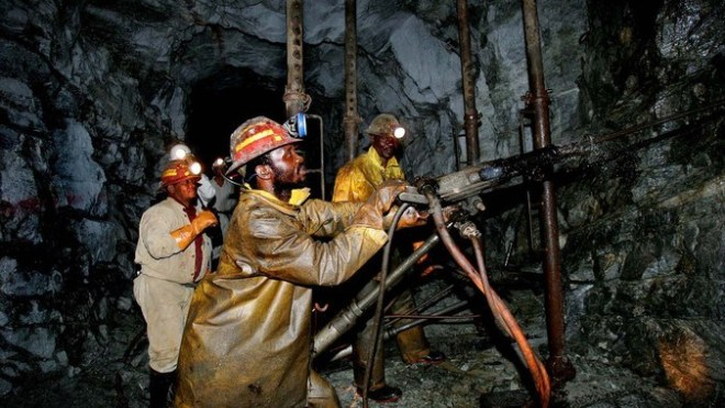miners in africa